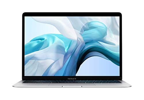 Apple MacBook Air (13-inch, 8GB RAM, 256GB Storage, 1.6GHz Intel Core i5) - Silver (Previous Model)