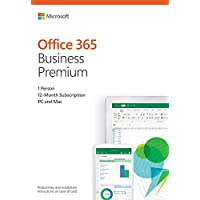 Microsoft Office 365 Business Premium 12-Month Subscription for PC/Mac, 1 User