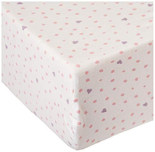 ropa de cama sabana bajera de la marca HonestBaby