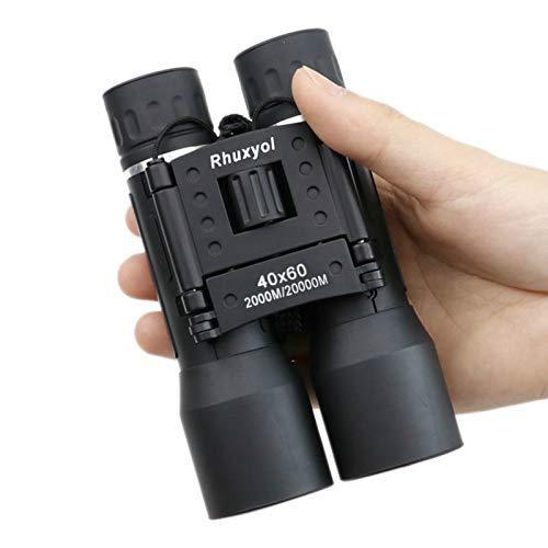 Teleskope Weitwinkel 40x60 HD Binokel im Freien Spielraum Zoom Prismatic Folding Brille Handfernrohr 40x NBNLSM