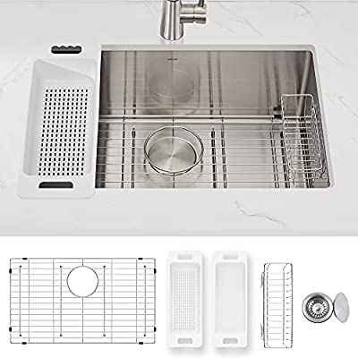 Modena Undermount Kitchen Sink Set