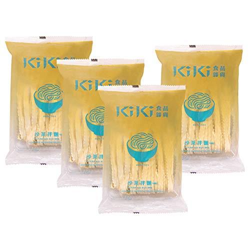 台湾直輸入 KiKi麺『台湾魚介まぜそば(刀削麺)』×4食 沙茶拌麺
