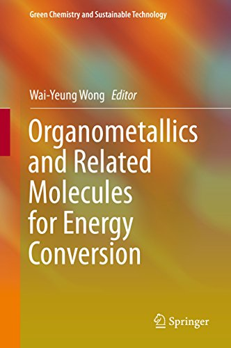 Organometallics and Related Molecules for Energy Conversion (Green Chemistry and Sustainable Technol