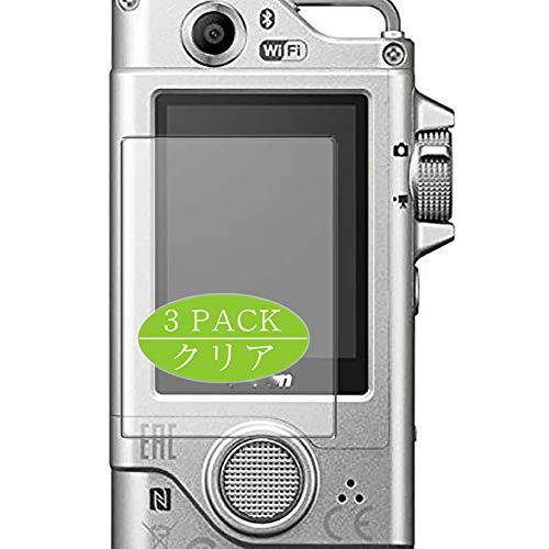 Vaxson - Pellicola protettiva per display compatibile con Nikon KeyMission 80, pellicola protettiva HD, non in vetro temperato, confezione da 3