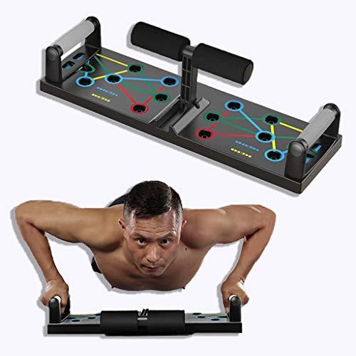 Azanaz Push Up Board Maniglie per Flessioni con Assistenza Sit-UP Maniglia Flessioni può Eseguire Un Allenamento Muscolare Efficace