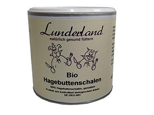 Lunderland Bio-Hagebutteschalen zur Stärkung des Immunsystems, 150g