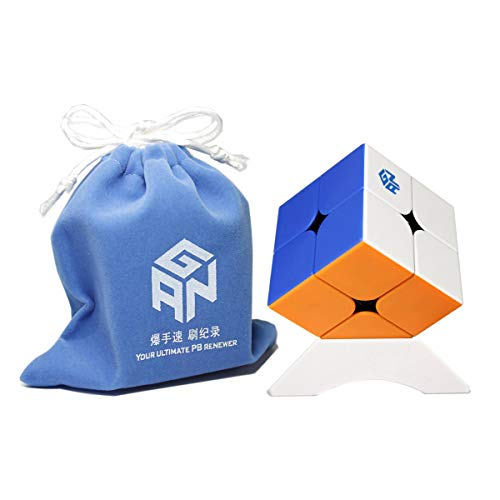 FunnyGoo Ganspuzzle GAN 251 M Speed Cube GAN251M GAN251 M 2x2 Magic Cube Puzzle Cube (Stickerless)