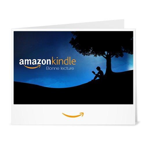 Chèque-cadeau Amazon.fr - Imprimer - Kindle