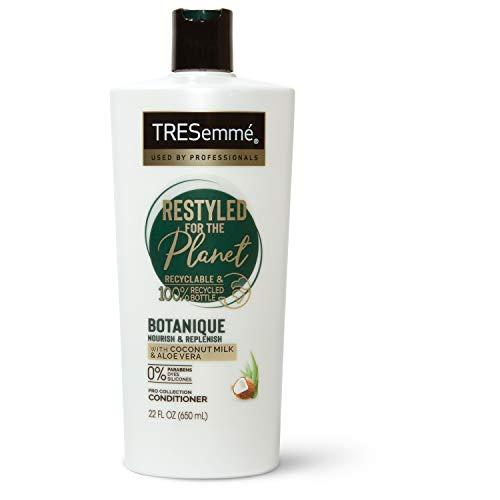 TRESemmé Botanique Conditioner Nourish & Replenish Coconut & Aloe Vera Paraben-free, Dye-free, Silicone-free 22 oz, Pack of 4