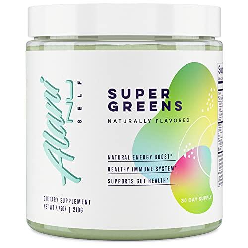 Alani Nu Super Greens Powder, Premium Superfood and Organic Veggie Whole Foods Supplement, 30 Servings