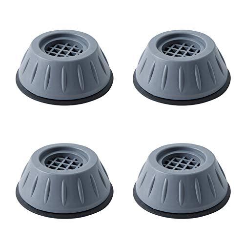 4 Stück Waschmaschinen Unterlage Schwingungsdämpfer Vibrationsdämpfer Antivibrationsmatte,Fußpuffer für Waschmaschine,Fußpads Antivibrationsmatte Stoßdämpfer für Waschmaschine Trockner