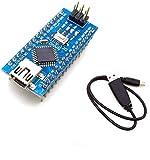 AptoFun Nano V3.0 con Placa de Desarrollo de Chip ATmega328P / CH340 Compatible con Arduino