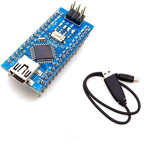 AptoFun Nano V3.0 mit ATmega328P/ CH340 Chip Development Board kompatibel mit Arduino