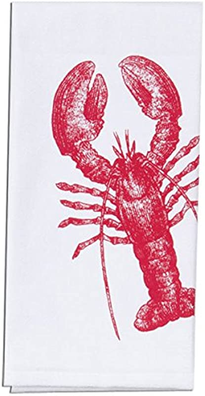 Kay Dee Designs Lobster Nautical Krinkle Flour Sack Towel