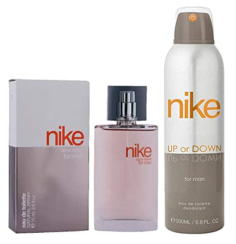 Nike Up or Down Man Combo Of Deodorant + EDT- Pack Of 2
