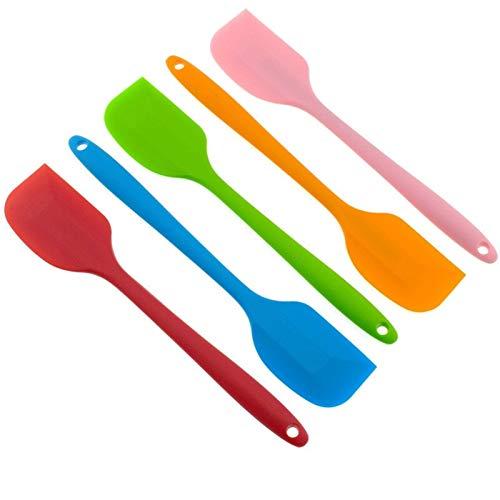 WLKJ Geschirr Küche Sahnekuchen Abkratzbürste Butter Mixer Kuchen Bürste Backen-Werkzeuge Küchen (Color : Yellow)