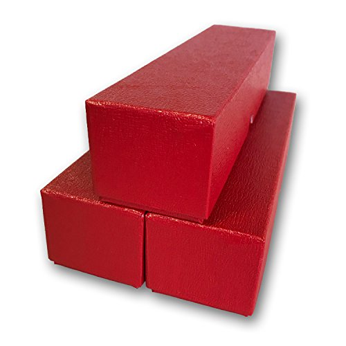 3 Red single row storage boxs for 2x2 coin holders by Generic