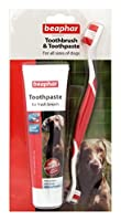 Beaphar Toothbrush & Toothpaste for Dogs is an easy to use and effective way to ensure that your dog has nice clean teeth, and fresh smelling breath, at all times. Containing a specially designed toothbrush and a great tasting toothpaste, this simple...