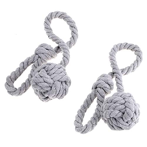 Sumnacon ロープ式 カーテンタッセル カーテン留め飾り カーテン アクセサリー ロープタッセル 紐 締め 2個セット (グレー)
