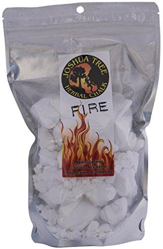 Joshua Tree Herbal Loose Chalk for Climbing and Gymnastics - Spice Scented Fire