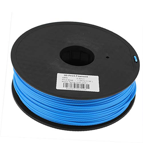 X-DREE Blue 3mm high Performance ABS 1kg/2.2lb 3D Printer Essential Printing Filament Reel Well Made for RepRap Makerbot