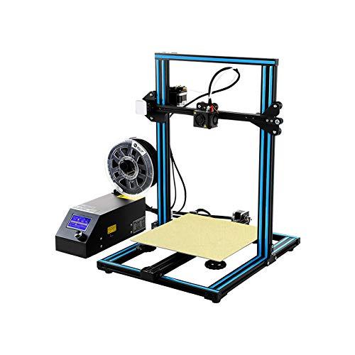 H&1 Kit DIY Imprimante 3D, avec Buse en Laiton Intégré Alimentation De Sécurité Et Automatique De Précision Nivellement Grand Volume d'impression 300 * 300 * 400Mm
