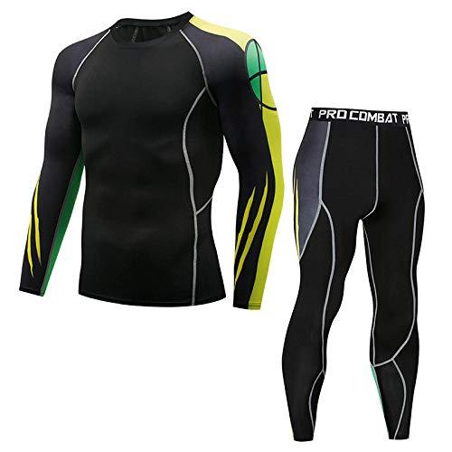 T-Shirt Homme, Legging, Vêtements De Sport, Combinaison De Sport, Respirant, Séchage Rapide-Dix_L