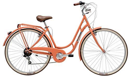 Fahrrad für Damen, 28 Zoll, Danish, Shimano, 6 V, Farbe lachs