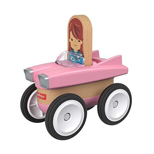 Fisher-Price GGL51 - Wunder Werker Holzspielzeug Oldtimer Spielzeugauto aus FSC zertifiziertem Holz, Spielzeug ab 3 Jahren