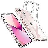 ESR Klare Silikon Hülle Kompatibel mit iPhone 13 Hülle, Dünne Handyhülle, Kristallklare Schocksichere Schutzhülle, Transparentes Vergilbungsresistentes TPU, Klar