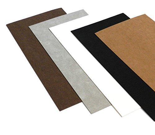 Ollexo SnapPap waschbares Papier Snap Pap 10x21 cm (Set aus 5 Bögen)