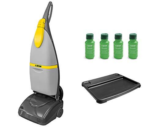Lavor 8.501.0501 fregadora-secadora de piso 230 V- 50 Hz, gris / amarillo