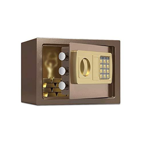 Z-COLOR Caja de seguridad digital, de gran capacidad de Ministerio del Interior de seguridad electrónicos de seguridad de acero dinero en efectivo, con bloqueo completo de anclaje Diseño Caja de Segur