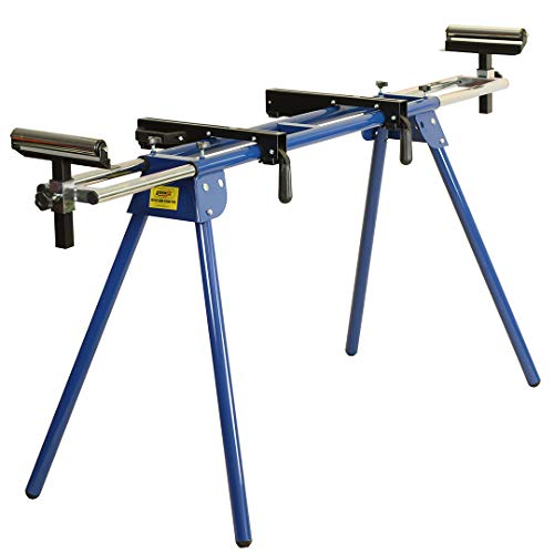 Universal MITRE Saw Stand CHOP Leg Miter Sliding EXTENDABLE Rollers Workbench Table
