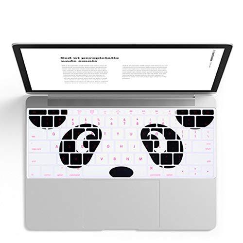 Super kawaii teclado cubierta piel para MacBook Pro 13 no Touch Bar A1708 12 pulgadas suave teclado pegatinas polvo impermeable