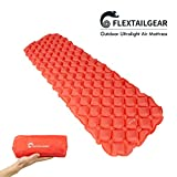 FLEXTAILGEAR Ultralight Camping Air Mattress Compact Air Sleeping Pad for Camping, Backpacking, Hiking – Tested 3.3 R-Value, Perfect for Sleeping Bags and Hammocks