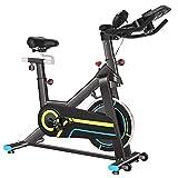 ANCHEER Vélo magnétique Vélo d'appartement Vélo de Fitness avec Affichage intelligent et Contrôle APP/Coussin Ajustable/Support de la Tablette/Volant magnétique Silencieux/Charge maximale:265Ibs