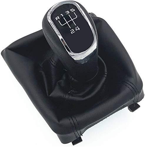 HZTWFC Étui de protection pour démarrage à soufflet avec bouton de changement de vitesse manuel à 5 vitesses pour Skoda Octavia II 09-12 Superb II 08-12 - Yeti 09-12