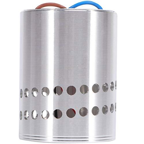 Uonlytech - Lámpara LED de pared (3 W, 85-265 V, aluminio), color blanco cálido