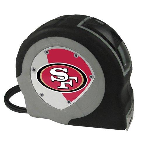 Team ProMark NFL San Francisco 49ers einziehbares Maßband, 4,6 m