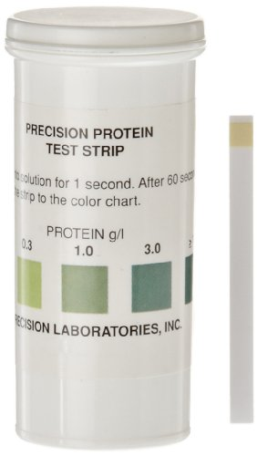 hand2mind Precision Labs Protein Test Strips (Pack of 50)