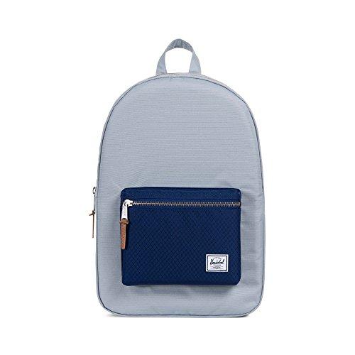 Herschel Unisex-Erwachsene Settlement Multipurpose Backpack, Steinbruch/Blueprint, Einheitsgröße