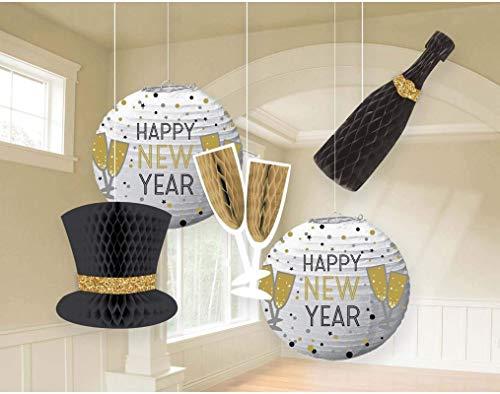 Amscan 242490 Decoration Décoration Papier Multicolore