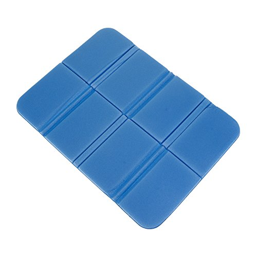 GGG Almohadillas de Asiento de cojín de Espuma XPE portátil de Plegable Impermeable Mat para Camping Picnic Color Azul