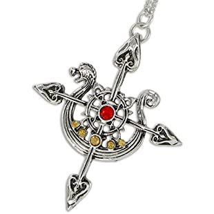 The Yorvik Compass - for Safe Travels - Lost Treasures of Albion Pendant / Necklace Collection