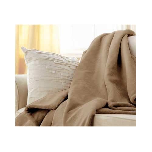 Sunbeam Microplush Heated Electric Warming Throw | Amazon.com