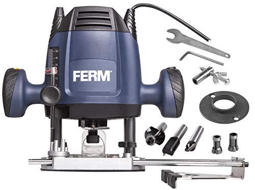 FERM Fresatrice verticale 6,8 mm - 1200W...