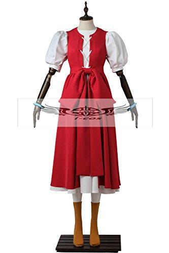 【i-cos】 ドラゴンクエストXI(ドラクエ11) 過ぎ去りし時を求めて ベロニカ コスプレ衣装 変装 仮装 コスチューム (M, 女性)