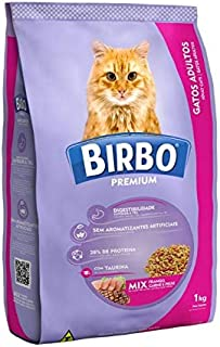 BIRBO CAT DRY FOOD MIX BEEF FISH AND CHICKEN 1KG