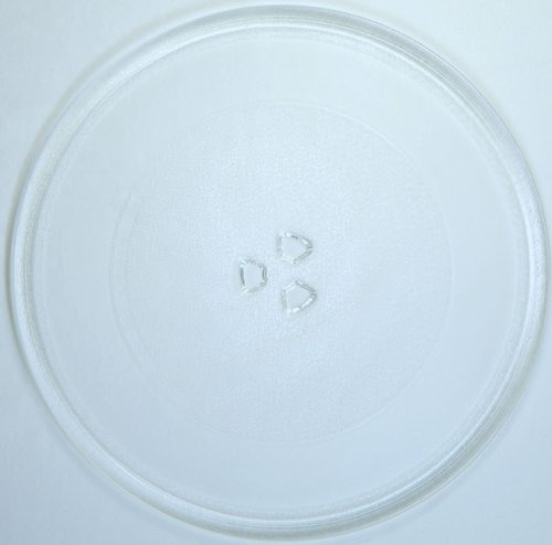 Mikrowellenteller / Drehteller / Glasteller für Mikrowelle # ersetzt Küppersbusch Mikrowellenteller # Durchmesser Ø 32,4 cm / 324 mm # Ersatzteller # Ersatzteil für die Mikrowelle # Ersatz-Drehteller # OHNE Drehring # OHNE Drehkreuz # OHNE Mitnehmer